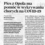 A wzespole projektu COVIDowego dr Agaty Kokocińskiej-Kusiak jest nie tylko Robert zHunterem:) wzałodze jest jeszcze naszych dwóch opolskich instruktorów szkolenia psów: Iga Paczyńska iMateusz Moryto!!! #dog #opole #covid_19